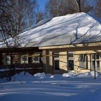 Дом где родился лётчик А.К.Серов. :: Наталья