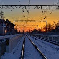 По дороге на работу. :: Владимир Ильич Батарин