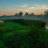 Закат на Угре :: Alexander Petrukhin