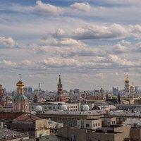 Облака над Златоглавой :: Владимир Макаров