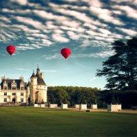 Воскресный вечер. Замок Шенонсо. Франция. (вар.2) :: DimCo ©