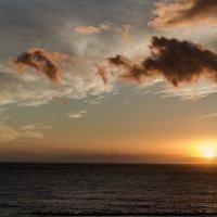 Закат над Атлантикой :: Дмитрий Сиялов