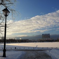 ритмы города-зимнее настроение :: Олег Лукьянов