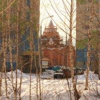 Храм строится :: Татьяна Ломтева