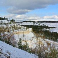 Карьер зимой.. :: Алла Кочергина
