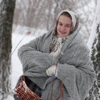 За подснежниками, в злую декабрьскую вьюгу... :: Дмитрий Денисов