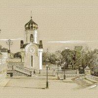 Москва. Часовня возле Храма Христа Спасителя. :: В и т а л и й .... Л а б з о'в