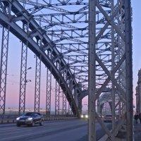 Большеохтинский мост (мост Петра Великого) :: Елена