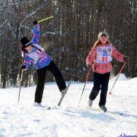 Скользкий снег.. :: Андрей Заломленков