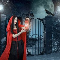 и немного тёмного... сказочного )) :: Райская птица Бородина