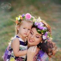 мама и дочь :: Елена Елизарова