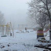 Там где-то солнце лежит в тумане... :: Татьяна Смоляниченко