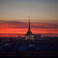 закат :: Ekaterina Usatykh
