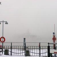 Туман в порту. :: Ольга Васильева