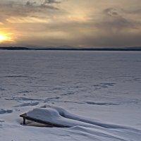 Пейзаж до заката. :: Сергей Адигамов