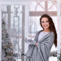 Морозное утро невесты. Без кофе никак ! :: Юлия Масликова