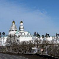 Новоиерусалимский монастырь (вид с трассы) :: Сергей Куликов