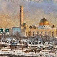 Мечеть Актау :: Анатолий Чикчирный
