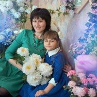 Мамочка и дочка ) :: Райская птица Бородина