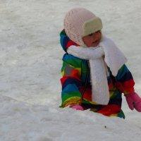 Снежный человечек :: Андрей Лукьянов