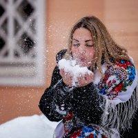 снег...снежочек :: Екатерина Overon