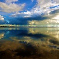 Закат над Мегленским озером... :: Sergey Gordoff