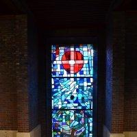 Витраж в церкви Вильгельмсхафена :: Ольга