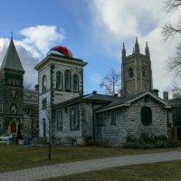 """Историческая обсерватория на территории """"College University"""" в Торонто (февраль) :: Юрий Поляков"""