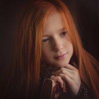 Рыжая девчонка :: Елена Пахомычева