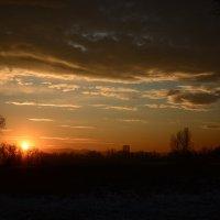 Закат на острове :: Светлана Грызлова