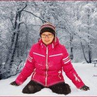 Радуемся снегу. :: Anatol Livtsov