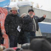 Митинг в поддержку пенсионеров :: Александр Алексеев
