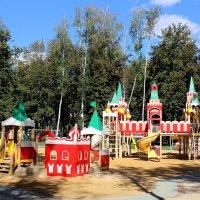 Детская площадка в парке :: Татьяна Пальчикова