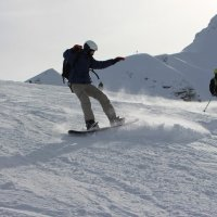 Сноубордист.... :: Люша