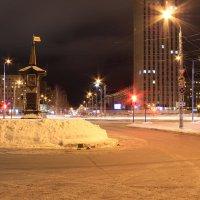 нулевой километр в Архангельске :: Марина Мякошина
