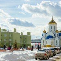 Новый храм в новом районе :: Олег Манаенков