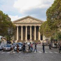 Церковь Мадлен.Париж :: Владимир Леликов