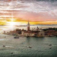 Закат в Венеции :: Сергей Шруба