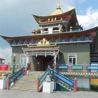 Буддийский храм. Бурятия :: Эльвира Ермакова