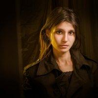 Девушка в плаще :: Олег Окселенко