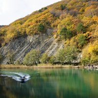 В октябре на реке Вулан :: Виктория Попова