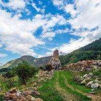 Кавказ. Башня Амирхановых :: Юрий Губков