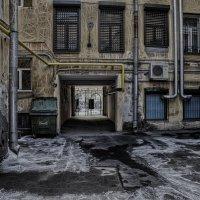 Питерские дворы :: ник. петрович земцов