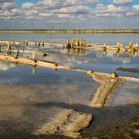 Соляное озеро в Евпатории :: Олег Коваленко