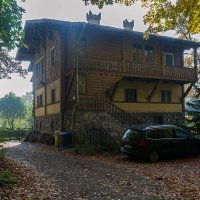 Швейцарский домик (сер. 19 века) :: Valentina M.