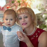 Бабушка с внучком...) :: Райская птица Бородина