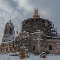Реставрация храма :: Сергей Цветков