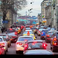 Московских улиц негасимый свет. :: Лара ***