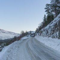Дорога к фьорду :: Виталий