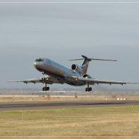 Взлёт Ту-154 :: Налётчик